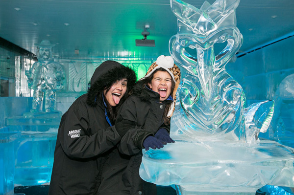 Minus 5° ICE BAR Queenstown kids