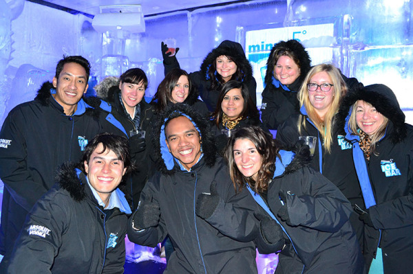 Minus 5° ICE BAR Queenstown group booking