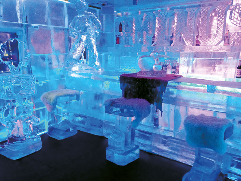 Minus 5 ICE BAR venue hire